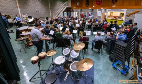 2019-03-24 1e repetitie Arnhems Promenade Orkest Market Garden Memorial 003
