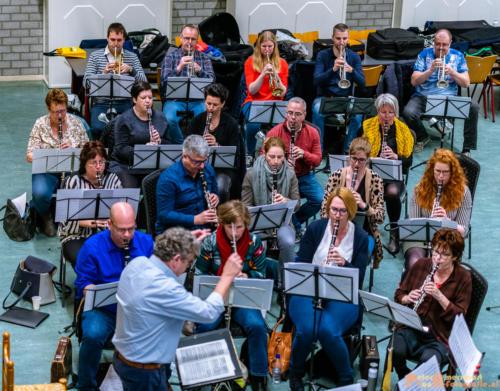 2019-03-24 1e repetitie Arnhems Promenade Orkest Market Garden Memorial 004