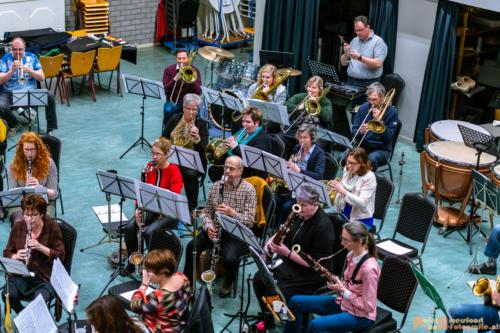 2019-03-24 1e repetitie Arnhems Promenade Orkest Market Garden Memorial 005