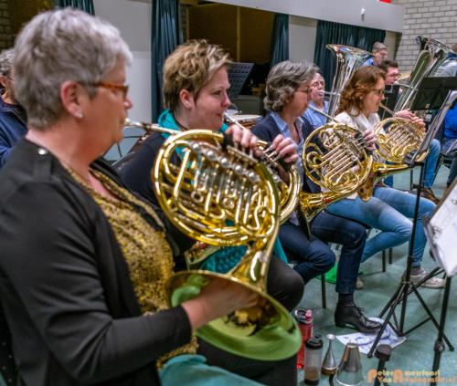 2019-03-24 1e repetitie Arnhems Promenade Orkest Market Garden Memorial 012