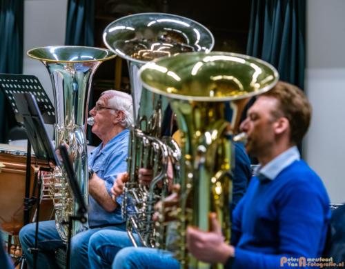 2019-03-24 1e repetitie Arnhems Promenade Orkest Market Garden Memorial 014