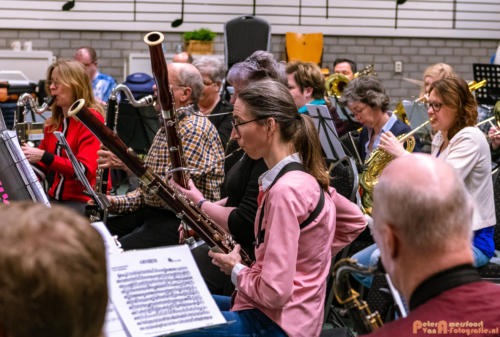 2019-03-24 1e repetitie Arnhems Promenade Orkest Market Garden Memorial 020