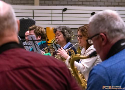 2019-03-24 1e repetitie Arnhems Promenade Orkest Market Garden Memorial 023