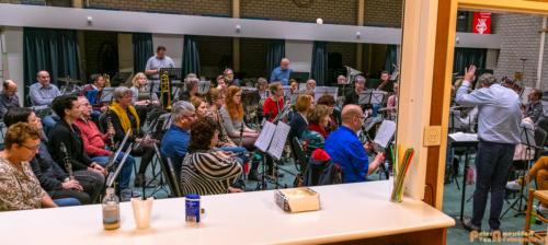 2019-03-24 1e repetitie Arnhems Promenade Orkest Market Garden Memorial 029