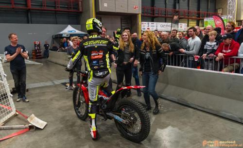 2018-02-23 Motorbeurs - Trialdemo Alex vd Broek 033