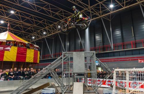 2018-02-23 Motorbeurs - Trialdemo Alex vd Broek 039