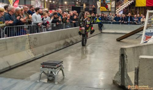 2018-02-23 Motorbeurs - Trialdemo Alex vd Broek 040