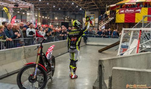 2018-02-23 Motorbeurs - Trialdemo Alex vd Broek 041