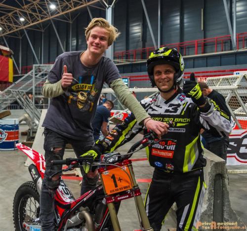 2018-02-23 Motorbeurs - Trialdemo Alex vd Broek 042
